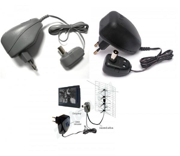 блок питания телевизионной антенны, ТВ адаптер 12V, сетевой адаптор, усилитель сигнала, Eurosky, PCI, VOTO, 220/12В