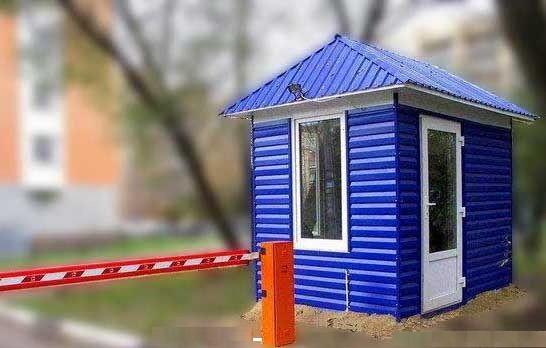 БЛОК-ПОСТЫ ОХРАНЫ изготовление Донецк