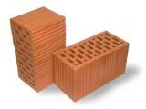 Керамический блок строительный двойной пустотелый СБК 2HF купить оптом и в розницу, доставка и розгрузка.