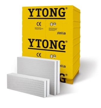 Блок строительный газобетонный YTONG. Различные размеры. Прямые поставки с производства.