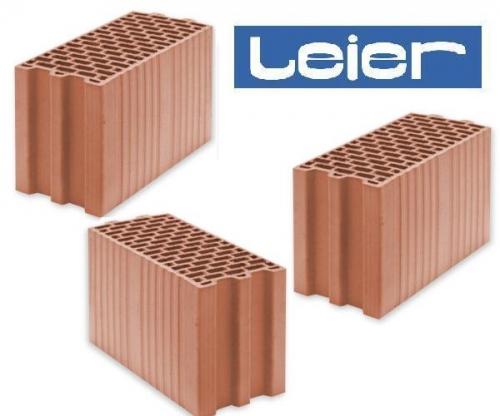 Блок строительный керамический пустотелый LEIER Termopor (Польша). Различные размеры. Прямые поставки с производства.