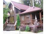 Фото  6 Фасадная доска: блок-хаус. Хороший радиус. Ширина: 630(635)мм. Толщина: 35мм. Длина: от 6,0м до 4,0м. 6692467