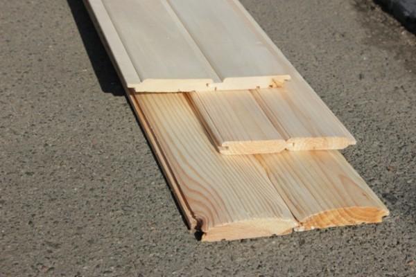 Блокхаус, деревянная вагонка