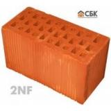керамические блоки 2НФ (2NF, двойной кирпич 250х120х138, эквивалент 2,12 кирпича) М100-150.