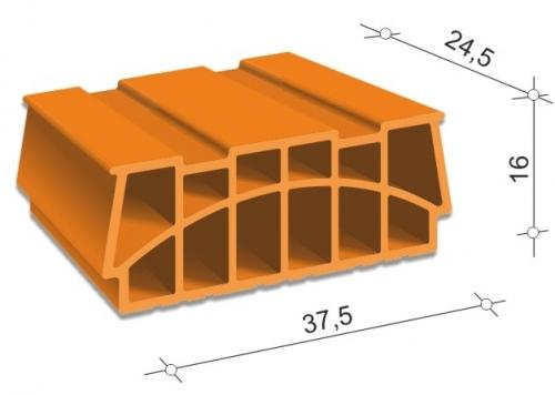 Блоки 40/16 перекрытия наборные системы FERT(Терива)