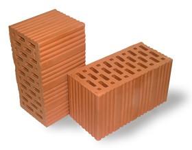 Блоки строительные керамические пустотелые, оптом и врозницу, осуществляем доставку и розгрузку