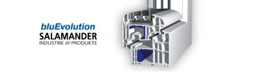 bluEvolution от Salamander. Немецкая 6 камерная система 92 мм. Размер 1300х1400 мм. Энергосбережение.