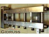 Фото  3 Коллектор из нержавеющей стали для теплого пола выходы 3/2 или 3/4 3399496