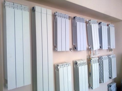 Большой выбор алюминиевых радиаторов