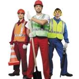 Большой выбор рабочей одежды, рабочих перчаток, обуви, футболок.
