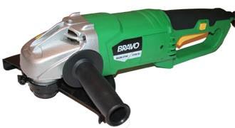 Болгарка (углошлифовальная машина) BRAVO ВШМ-2700, (230 мм, 2700 Вт)