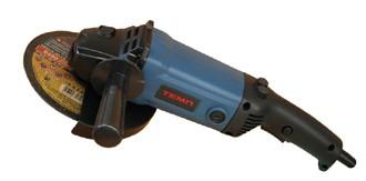 Болгарка (углошлифовальная машина) ТЕМП МШУ-180-1800 (180 мм, 1800 Вт), плавный пуск