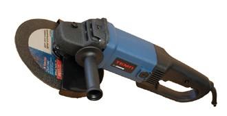Болгарка (углошлифовальная машина) ТЕМП МШУ 230-2100 (230 мм, 2100 Вт), плавный пуск