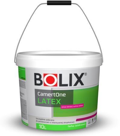 BOLIX CAMERTONE LATEX BIALA 10L краска латексная белая для внутренних работ стены и потолки.