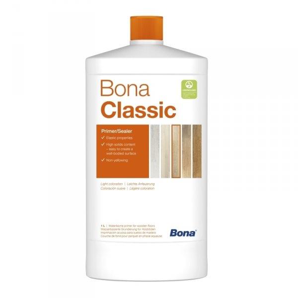 Фото  1 Bona Prime Classic Бона Прайм Клиссик Грунт для паркета на водной основе 1л 322923