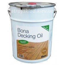 Фото  1 Bona Deck Oil Бона Дек Ойл масло террасное 322964