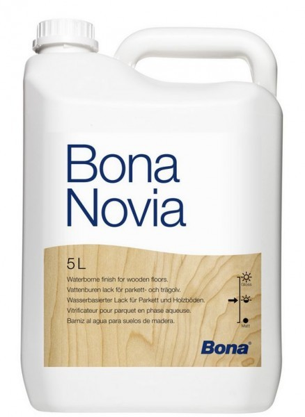 Bona Novia паркетный лак на водной основе 5 л.
