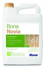 Bona Novia Однокомпонентный лак создан на водной основе 10л