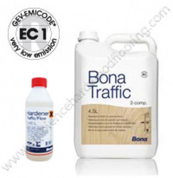 Bona Traffic паркетный лак 2хкомпонентный на водной основе.