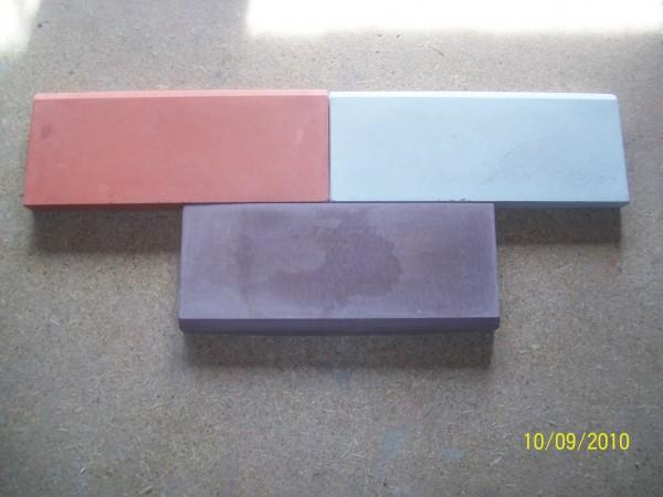 Бордюр размер 50,0*21,0 толщина 4.5 см цвета:желтый, черный, красный, коричневый, серый