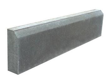 Бордюр тротуарный, поребрик (650х150х50мм) (вибропресс)