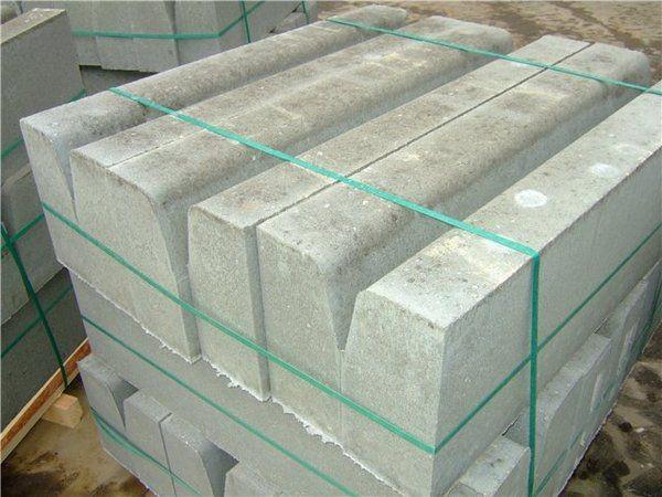 Бордюрный камень БР 100-20-8