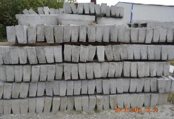 Бордюрный камень БУ 100-30-29 ГОСТ 6665-91