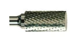 Борфреза твердосплавная форма А (A0616M06) цилиндр с гладким торцом