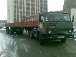 Бортовой КАМАЗ 5410 9м