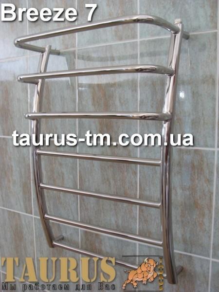 Breeze 7/3 400 мм. - полотенцесушитель для ванной комнаты. Высота 750 мм.
