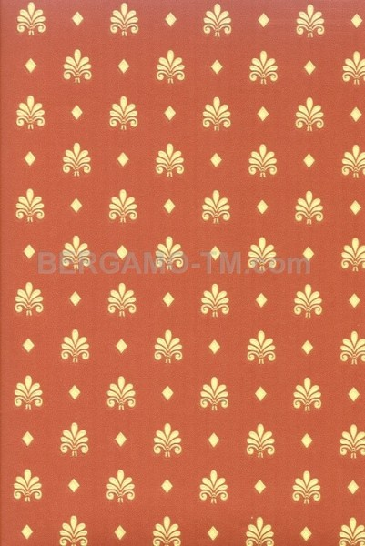 Бренд:Zambaiti. Коллекция:ARALDO VENEZIA. Артикул:9438 Тип:Виниловые. Размер:0,53х10,05m. Цвет:красный. Рапорт:6,6сm.