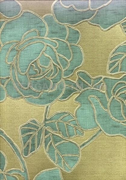 Бренд:Zambaiti. Коллекция:SPLENDIDA. Артикул:3605. Тип:Виниловые. Размер:0,70х10,05m. Цвет:голубой. Рапорт:64cm