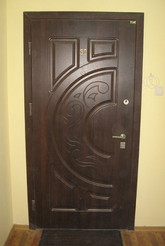 Бронированные двери МДФ МДФ