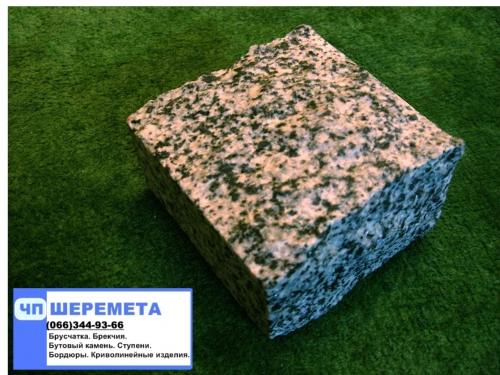 Брусчатка гранитная Покостовка(серая), природный камень, Киев. Консультация.