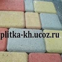 Брусчатка, сухопрессованная тротуарная плитка