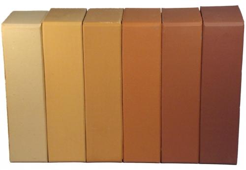 БЦ кирпич лицевой керамический Персиковый М-200 250х120х65 416 шт. /поддон, 2,4 кг