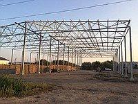 Фото  1 Будівництво зерносховищ,ангарів.складів 40*60*8. 1422966