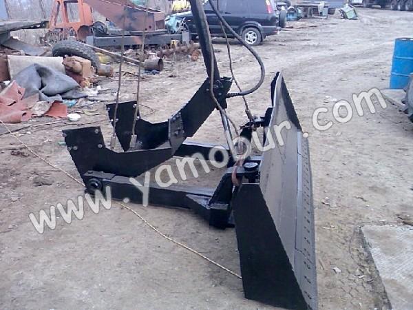 Бульдозерное оборудование – отвалы универсальные для тракторов Т-150К
