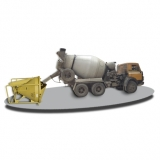 Бункер бетонной массы поворотный (туфелька ; ;)