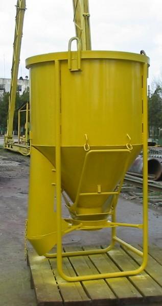 """Бункер вертикальный круглый """"Рюмка"""" 0,5-2,0 т. л."""