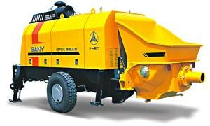 бункерный бетонный насос SANYHBT 60C -1816 DIII (емкость – 0,7м3, по горизонтали-850м, по вертикали-250 м)