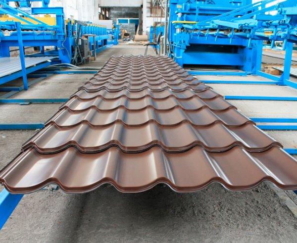 Фото  1 Металлочерепица Монтеррей, Словакия U. S. Steel Košice от производителя по низкой цене 1216746