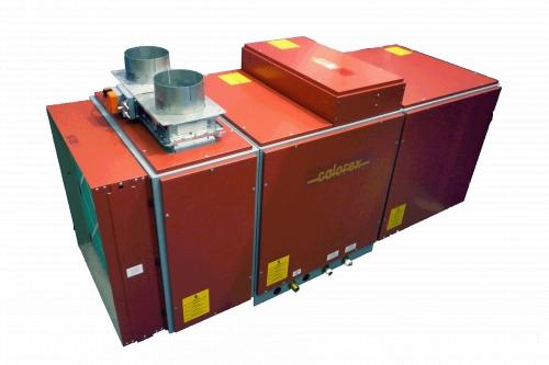 Calorex Variheat III AW 600 VH - приточно-вытяжная осушительная система канального типа. Производительность 163 л/сут.
