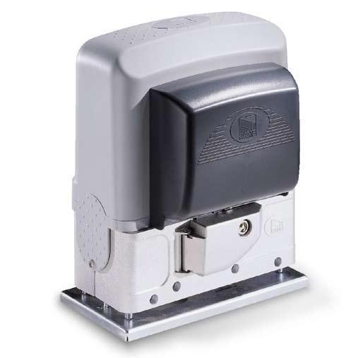 Came BK 1200. Электропривод для откатных со встроенной панелью управления