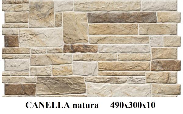 плитка фасадная CANELLA natura 490x300x10