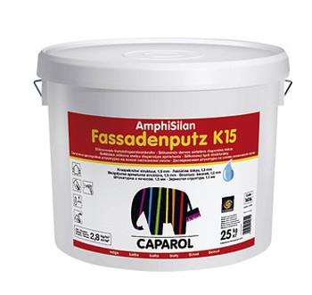 Caparol Силиконовая штукатурка Amphisilan-Fassadenp utz K15, барашек (Германия)