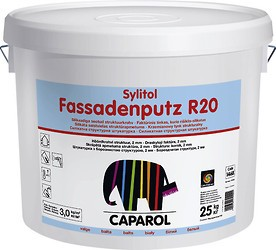 Caparol Силиконовая штукатурка Silikon-Fassadenputz R20