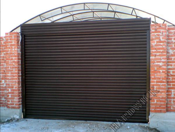 Фото 3 Стальные рулонные ворота 326439
