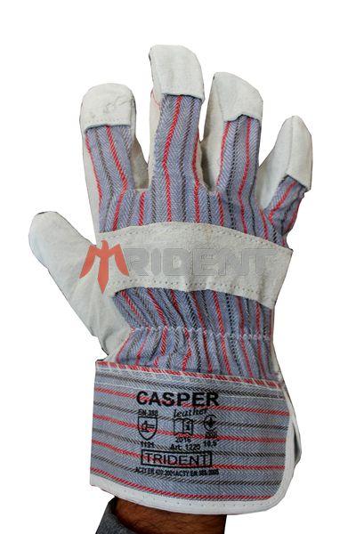Рукавички робочі комбинированi CASPER з долонею із шкіри