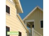 Фиброцементный сайдинг Cedar Color, фактура дерева